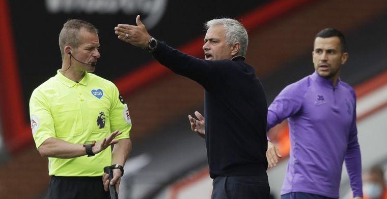 Mourinho baalt flink van VAR: 'Iedereen zag dat dit een penalty was, iedereen'