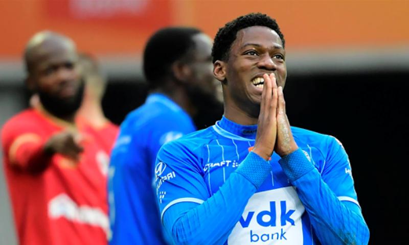 Afbeelding: Update: 'KAA Gent verhoogt bod op gegeerde spits naar zes miljoen euro'