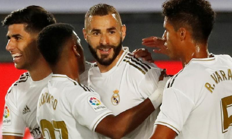 Afbeelding: Real Madrid loopt weer weg bij Barcelona: hoofdrol voor Benzema, Asensio en VAR