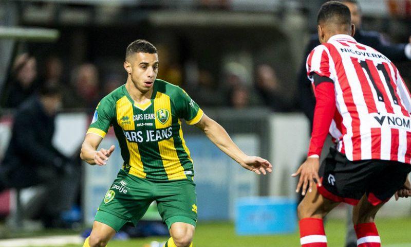 Afbeelding: 'Benfica moet ADO-aanvaller Ould-Chikh 1,55 miljoen euro betalen'