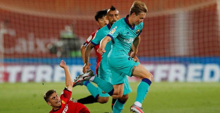 Barça maakt wedstrijdselectie bekend: ook in Estadio José Zorrila geen De Jong