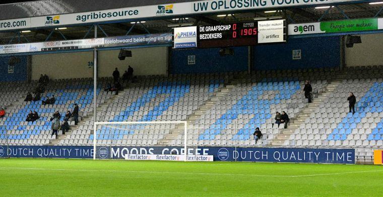 Jong Oranje komende interlands niet op Vijverberg: team trekt verder het land in