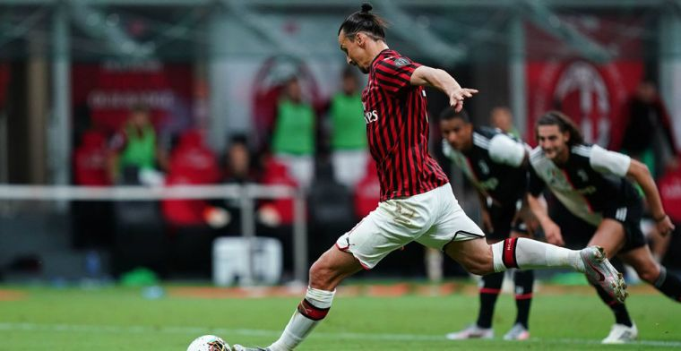 Ibrahimovic aast op vertrek bij AC Milan: Ik ben geen Europa League-speler