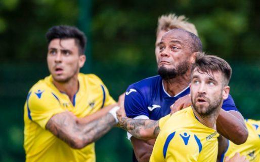 Anderlecht legt in eerste oefenwedstrijd STVV over de knie, Kompany scoort