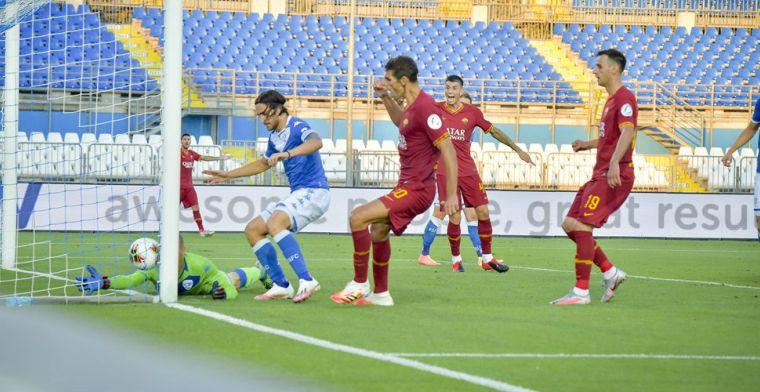 Kluivert is terug in de selectie, maar speelt niet: Roma op Europa League-koers
