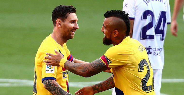 Krachten vloeien weg bij Barça: assist 20 (!) voor Messi, franjeloze uitzege