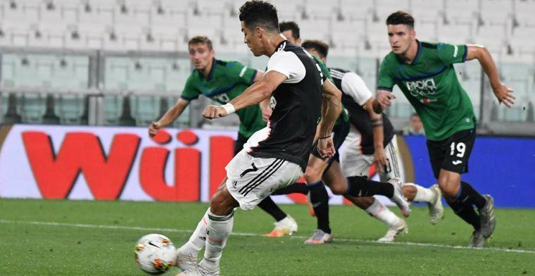 Juventus slaat aanval op de troon van dapper Atalanta af dankzij twee penalty's