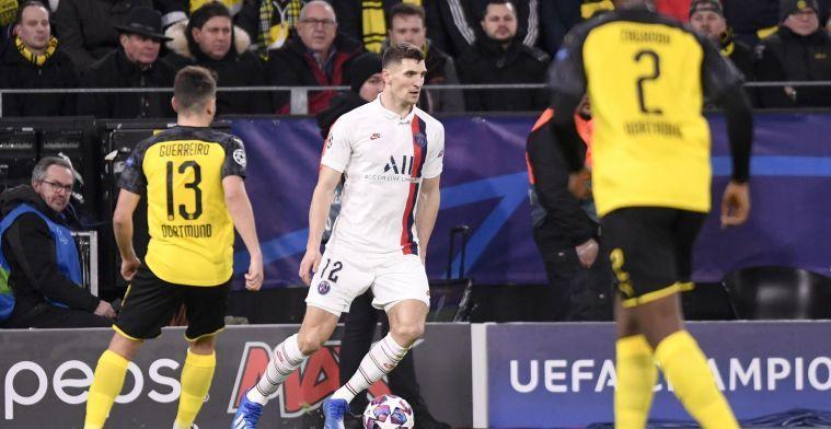 Meunier bedankt voor gunst van Dortmund: 'Avec tristesse'