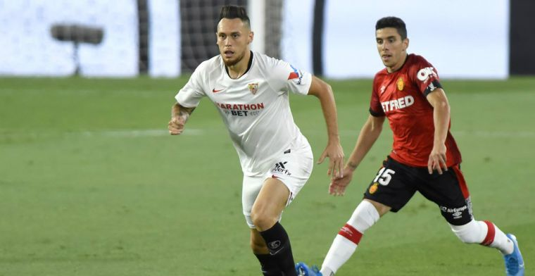 Sevilla en De Jong op weg naar Champions League: solide overwinning op Mallorca