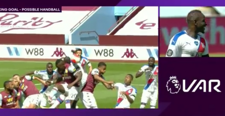 VAR houdt Engeland in de greep: goal via schouder wordt afgekeurd wegens 'hands'