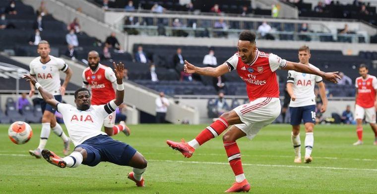 Tottenham wint intense North London Derby en wisselt stuivertje met Arsenal