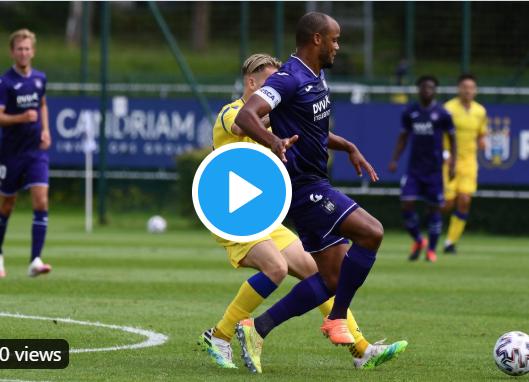 De beelden van dubbele oefenzege van Anderlecht tegen STVV: alomtegenwoordige Doku