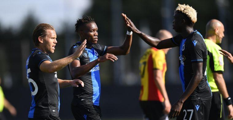 Okereke is de uitblinker bij Club Brugge: We zullen beloond worden