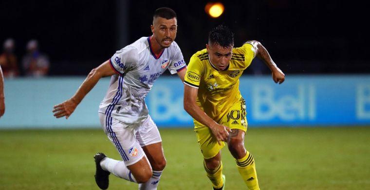 Stam door prachtgoals hard onderuit bij MLS-debuut, ook valse herstart De Boer