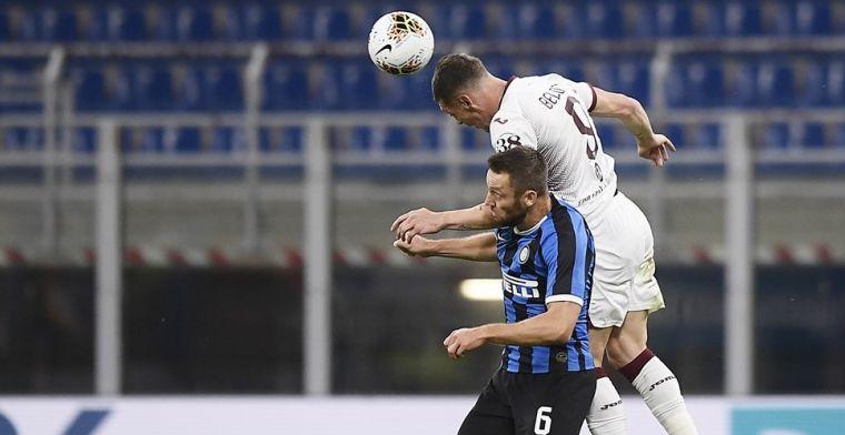 Inter is lachende derde na thuiszege op Torino en stijgt van plek vier naar twee
