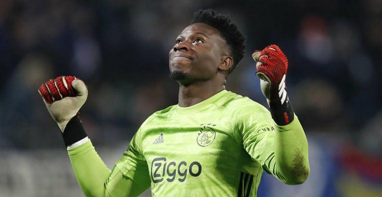 De Telegraaf: Ajax wil gewilde Onana houden en biedt goalie nieuw contract aan