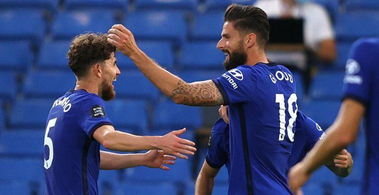 Chelsea doet goede zaken in CL-strijd en wint: Ziyech op tribunes Stamford Bridge