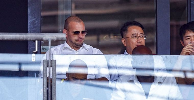 Buitenlandse comeback dient zich aan voor Sneijder: Willen hem die optie bieden