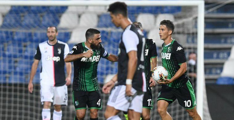 Juventus zakt weer door het ijs, geeft 0-2 voorsprong weg, maar ontsnapt met punt