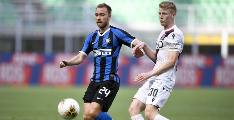 'Inter staat na amper zes maanden al open voor vertrek van Eriksen'