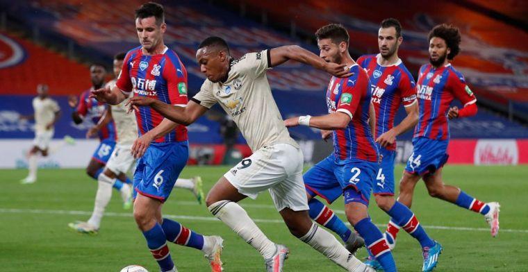 United wint met Fosu-Mensah van Crystal Palace, vervelende blessure Van Aanholt