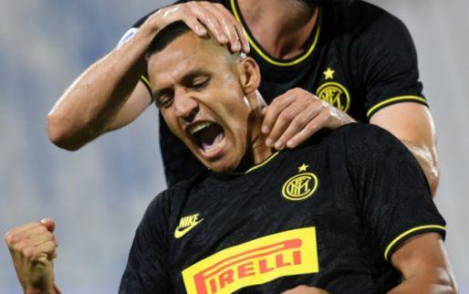 Afbeelding: Inter stoot Atalanta van tweede plaats dankzij herboren Sánchez