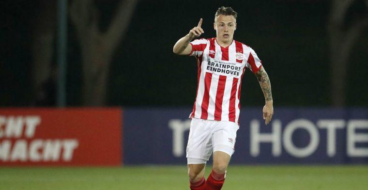 PSV verlengt contract talentvolle verdediger: 'Hopelijk aansluiten bij PSV 1'