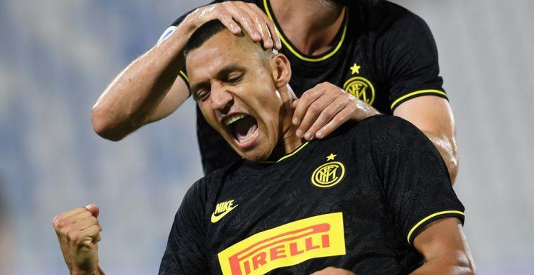 Inter stoot Atalanta van tweede plaats dankzij herboren Sánchez