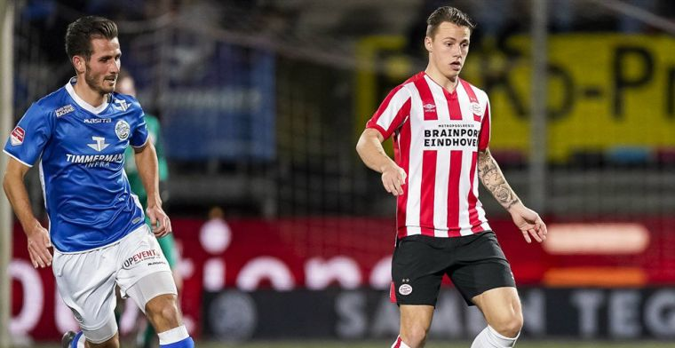 Flink wennen bij PSV: 'Maar speel hier nu dertien jaar, is niet meer dan normaal'