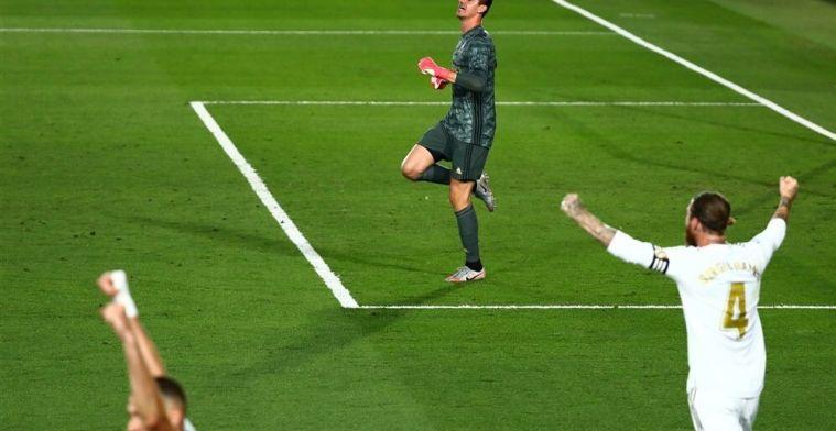 """Courtois na winnen van LaLiga: """"Dit voelt als het winnen van een EK of een WK"""""""