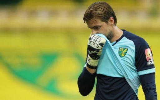 Afbeelding: Norwich speelt horror-seizoen passend uit: twee keer rood en bijzondere eigen goal