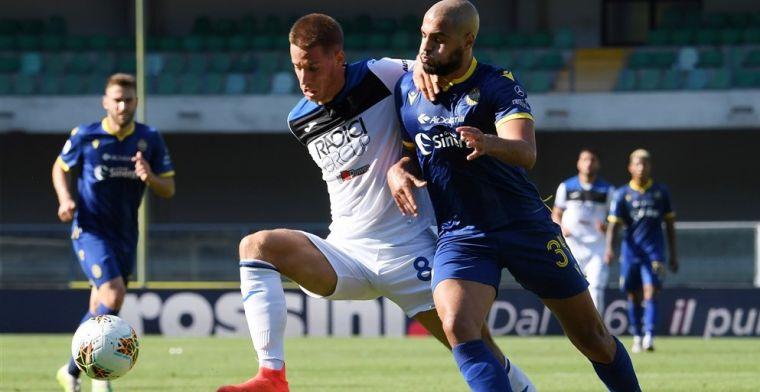 Geen Scudetto voor Castagne, Atalanta speelt gelijk bij Hellas Verona