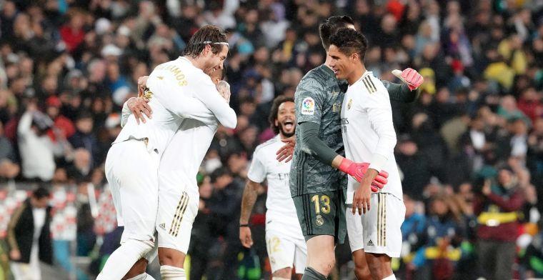 Courtois en Hazard blijven binnen, maar 'Leganés krijgt geen cadeaus van Real'