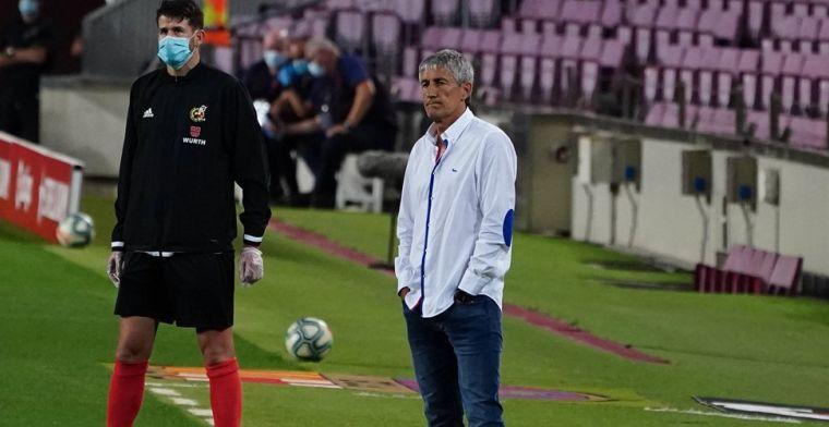 'Setién mag voorlopig aanblijven bij Barça ondanks aanval van Messi'