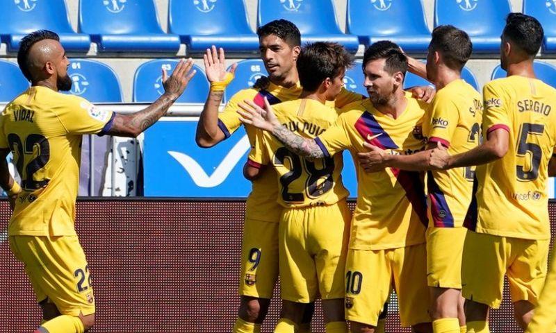 Afbeelding: Barcelona werpt schroom eindelijk van zich af dankzij Messi en talenten