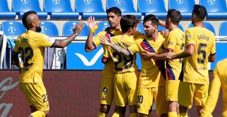Barcelona werpt schroom eindelijk van zich af dankzij Messi en talenten