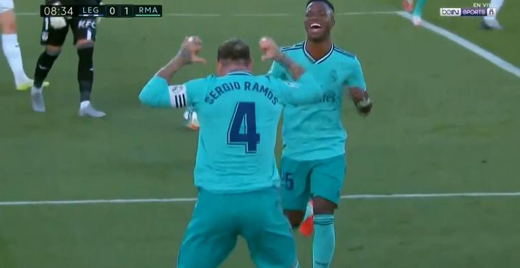 GOAL: Ramos blijft maar scoren en maakt zijn 11e(!) voor Real Madrid