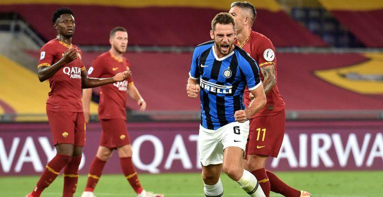 Dubbel hoofdrol voor De Vrij: Inter samen met Atalanta de Champions League in