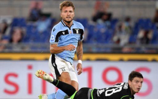 Afbeelding: Eindelijk wint Lazio weer eens, Immobile pakt voorsprong op Ronaldo