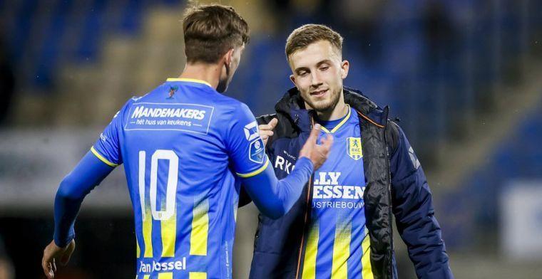 Kraay jr. snapt Feyenoord-spits Vente niet: 'Doe dan normaal, man'