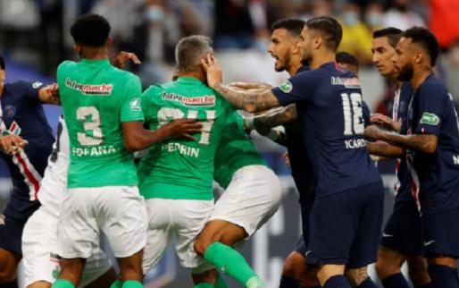 Afbeelding: Paris Saint-Germain wint verhitte bekerfinale, grote zorgen om Mbappé