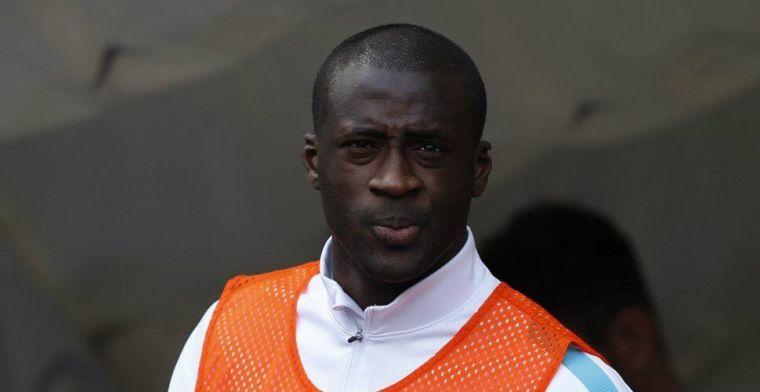 Clubloze Yaya Touré (37) duikt plotseling op bij nummer 17 van de League Two