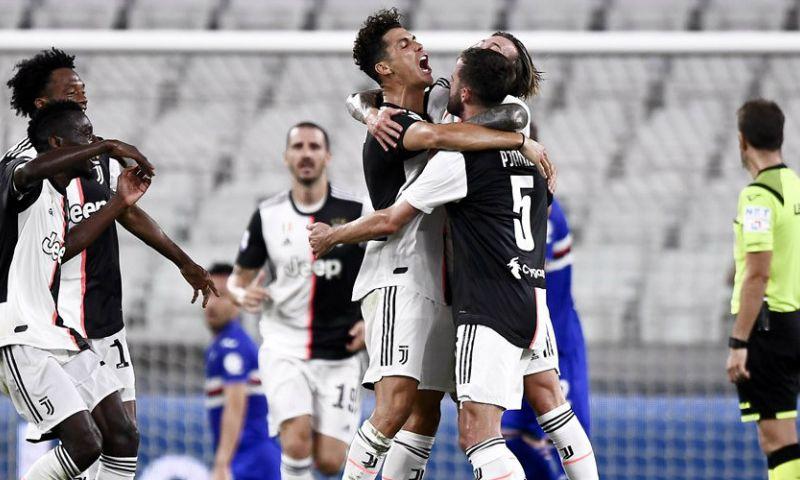 Afbeelding: Juventus ploetert richting het einde, maar heeft negende titel op rij wel binnen