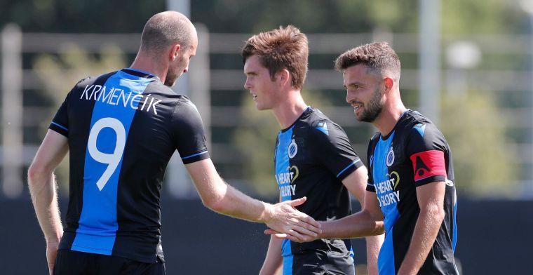 Club Brugge legt Knokke makkelijk over de knie in laatste oefenmatch