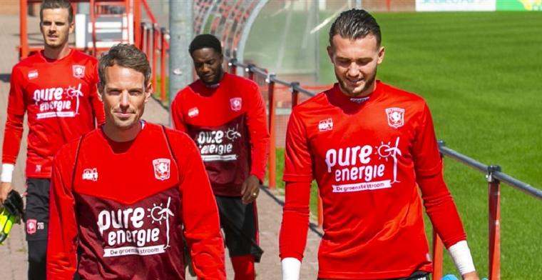 FC Twente-doelman Drommel reageert op belangstelling van AZ