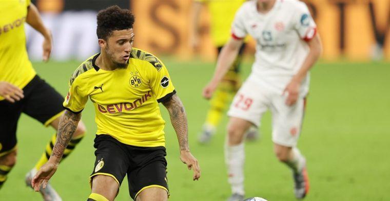 'Dortmund wijst eerste bod van United op Sancho af en wil twintig miljoen meer'