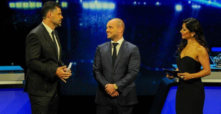 Sneijder op kruispunt: 'Nu hier, misschien loopt hij straks weer ergens anders'