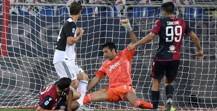 Debuterende Belg ziet Juve verliezen in Sardinië, AS Roma naar Europa League