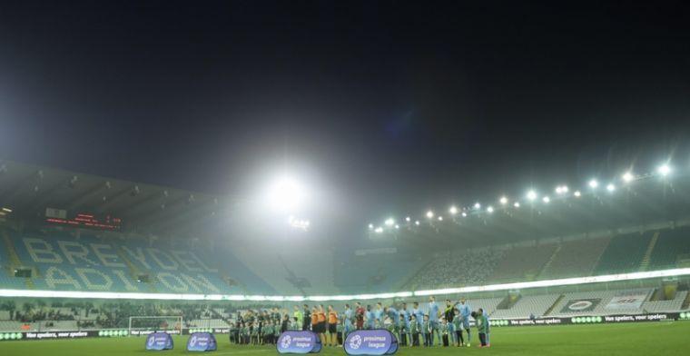 Beslissing Voetbal Vlaanderen heeft gevolgen voor programma Cercle Brugge