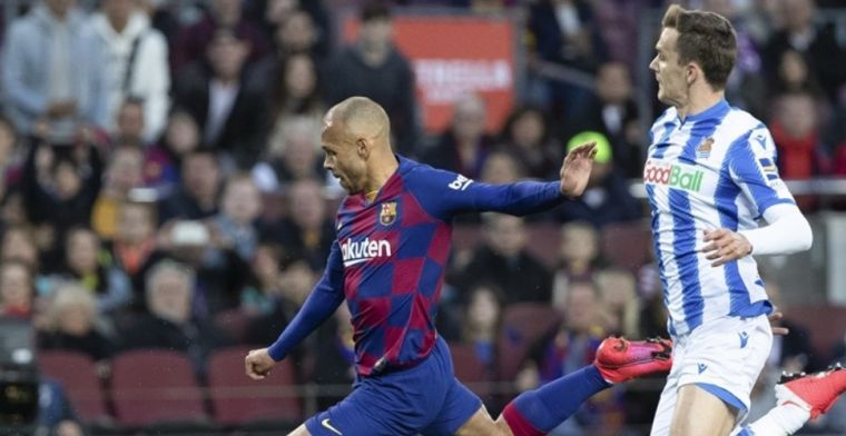 Ajax wil Barcelona-aanvaller Braithwaite